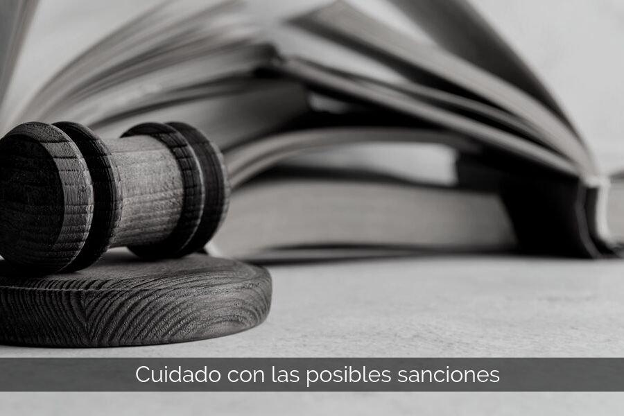 protección de datos sanciones